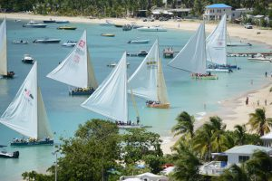 The start of Anguilla boat race