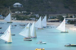 starting of Anguilla boat race