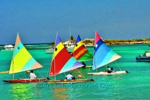 youth sailing in Anguilla