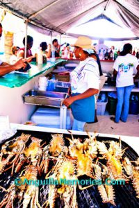 Anguilla lobsters